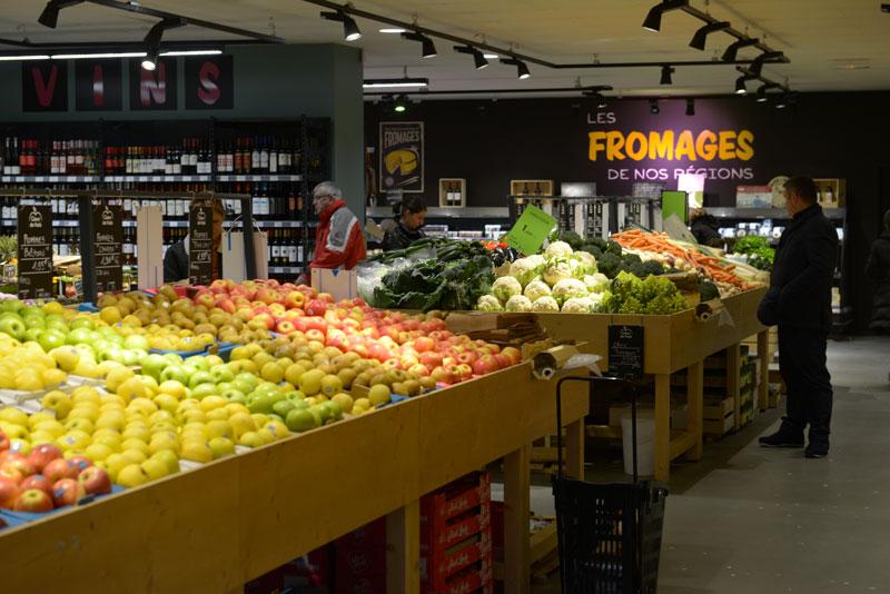 Coeur de Frais - intérieur magasin Bayonne
