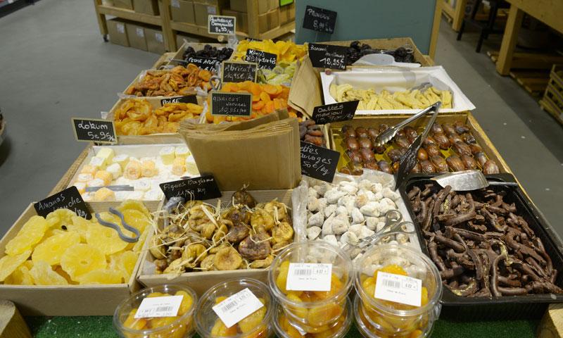 Coeur de Frais - fruits secs magasin Bayonne