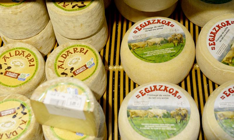 Coeur de Frais - fromages magasin Bayonne